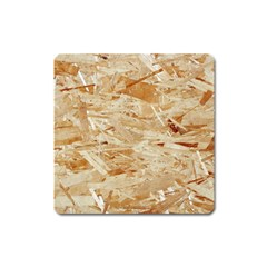 Osb Plywood Square Magnet
