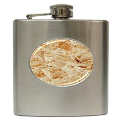 Osb Plywood Hip Flask (6 Oz)