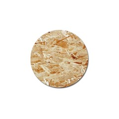 Osb Plywood Golf Ball Marker (4 Pack)