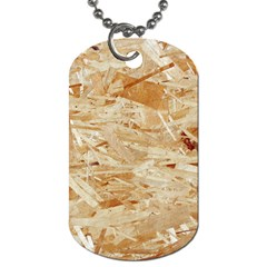 Osb Plywood Dog Tag (two Sides)