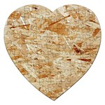 OSB PLYWOOD Jigsaw Puzzle (Heart) Front