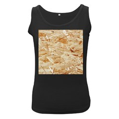 Osb Plywood Women s Black Tank Tops