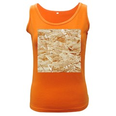 Osb Plywood Women s Dark Tank Tops
