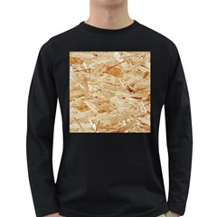 Osb Plywood Long Sleeve Dark T Shirts