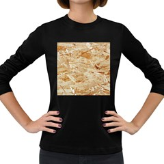 Osb Plywood Women s Long Sleeve Dark T Shirts