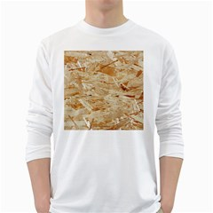 Osb Plywood White Long Sleeve T Shirts