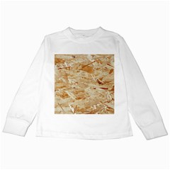 Osb Plywood Kids Long Sleeve T Shirts