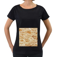 Osb Plywood Women s Loose Fit T Shirt (black)