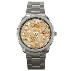 Osb Plywood Sport Metal Watches