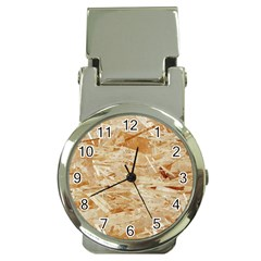Osb Plywood Money Clip Watches