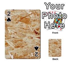 Osb Plywood Playing Cards 54 Designs