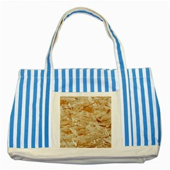 Osb Plywood Striped Blue Tote Bag