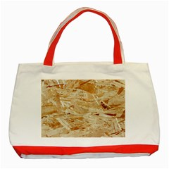Osb Plywood Classic Tote Bag (red)