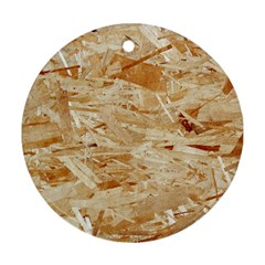 Osb Plywood Round Ornament (two Sides)