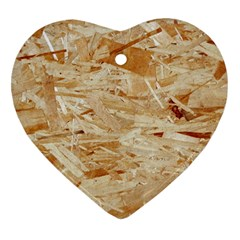 Osb Plywood Heart Ornament (2 Sides)