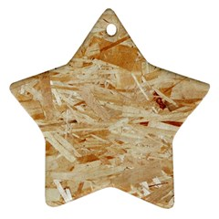 Osb Plywood Star Ornament (two Sides)