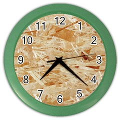 Osb Plywood Color Wall Clocks