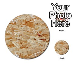 Osb Plywood Multi Purpose Cards (round)