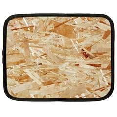 Osb Plywood Netbook Case (large)