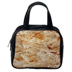 Osb Plywood Classic Handbags (one Side)