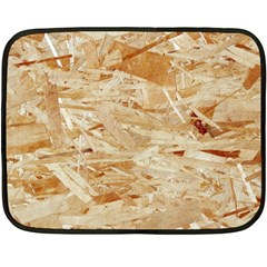 Osb Plywood Double Sided Fleece Blanket (mini)