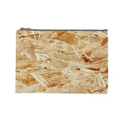 Osb Plywood Cosmetic Bag (large)