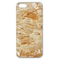 OSB PLYWOOD Apple Seamless iPhone 5 Case (Clear)