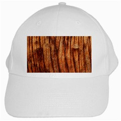 Old Brown Weathered Wood White Cap