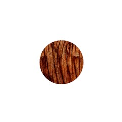 Old Brown Weathered Wood 1  Mini Magnets