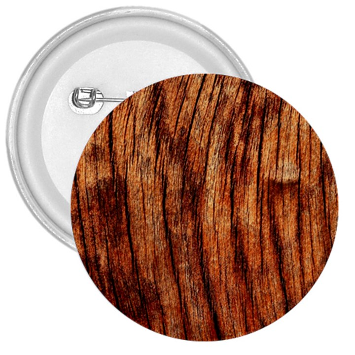 OLD BROWN WEATHERED WOOD 3  Buttons