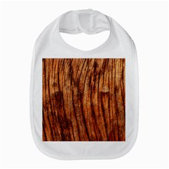 Old Brown Weathered Wood Bib