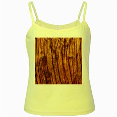 Old Brown Weathered Wood Yellow Spaghetti Tanks