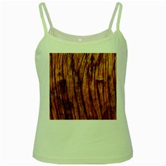 Old Brown Weathered Wood Green Spaghetti Tanks