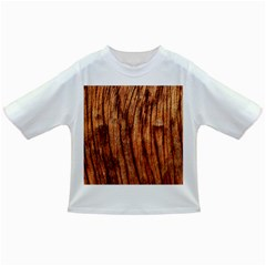 Old Brown Weathered Wood Infant/toddler T Shirts