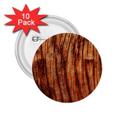 Old Brown Weathered Wood 2 25  Buttons (10 Pack)