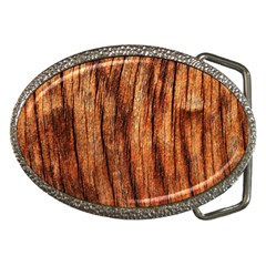 Old Brown Weathered Wood Belt Buckles