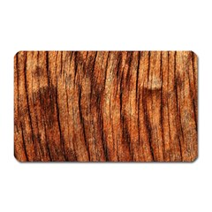 Old Brown Weathered Wood Magnet (rectangular)