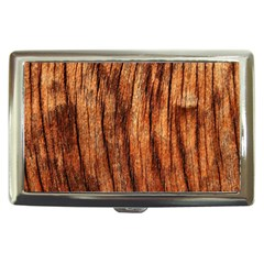 Old Brown Weathered Wood Cigarette Money Cases