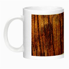 OLD BROWN WEATHERED WOOD Night Luminous Mugs
