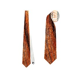 Old Brown Weathered Wood Neckties (two Side)