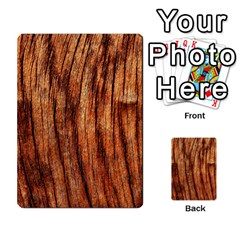 Old Brown Weathered Wood Multi Purpose Cards (rectangle)