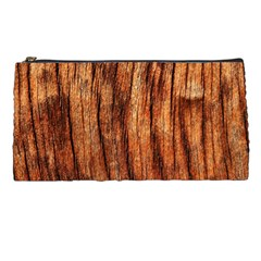OLD BROWN WEATHERED WOOD Pencil Cases