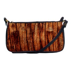 OLD BROWN WEATHERED WOOD Shoulder Clutch Bags