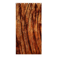 OLD BROWN WEATHERED WOOD Shower Curtain 36  x 72  (Stall)
