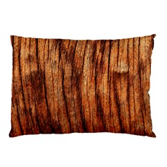 OLD BROWN WEATHERED WOOD Pillow Cases (Two Sides)