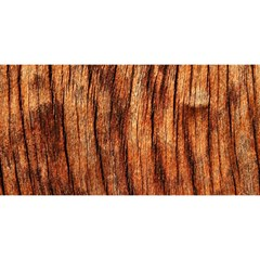 OLD BROWN WEATHERED WOOD YOU ARE INVITED 3D Greeting Card (8x4)