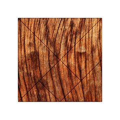 Old Brown Weathered Wood Acrylic Tangram Puzzle (4  X 4 )