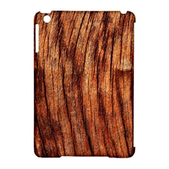 OLD BROWN WEATHERED WOOD Apple iPad Mini Hardshell Case (Compatible with Smart Cover)