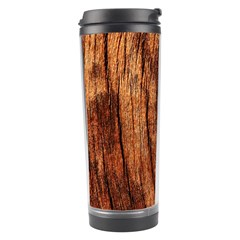 OLD BROWN WEATHERED WOOD Travel Tumblers