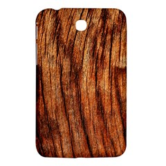 OLD BROWN WEATHERED WOOD Samsung Galaxy Tab 3 (7 ) P3200 Hardshell Case